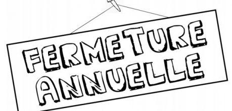 FERMETURE POUR VIDANGE DU 4 SEPT AU 10 SEPT INCLUS