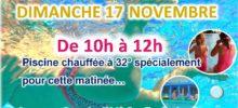 PLOUF PARTY…Dimanche 17 Novembre de 10h à 12h