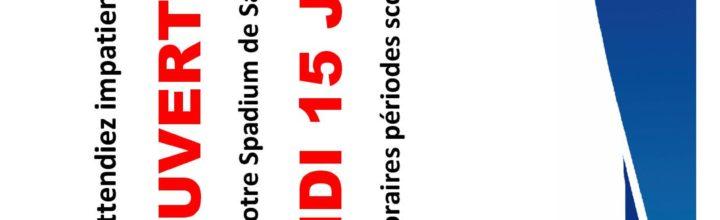 RÉOUVERTURE LUNDI 15 JUIN !!!!!